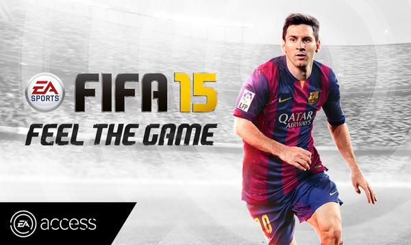 FIFA 15 EA Access