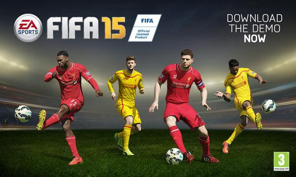 FIFA 15 Liverpool Player Faces