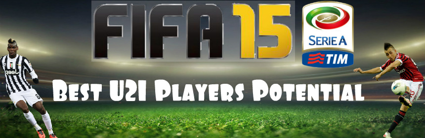 FIFA 15 Seria A Best Players Potential