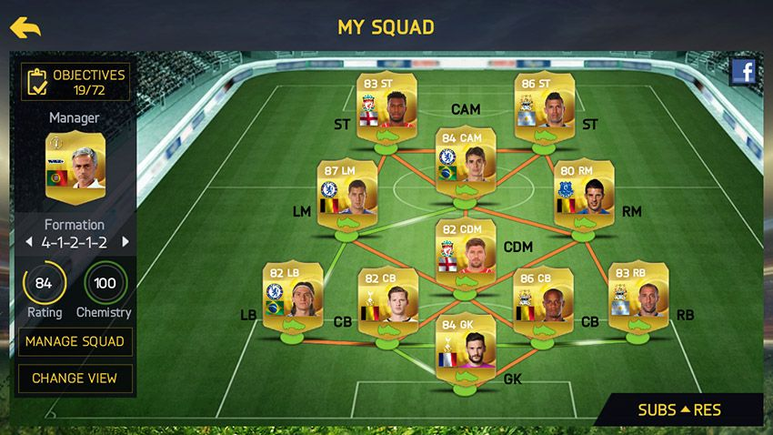 Fifa 15 ultimate team for android and ios now available for.