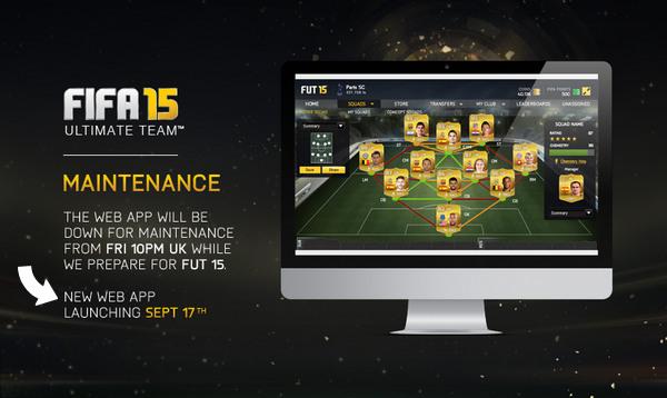 FIFA 15 Web App