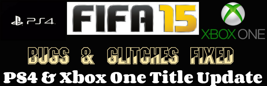 FIFA 15 Ps4 Xbox One Update