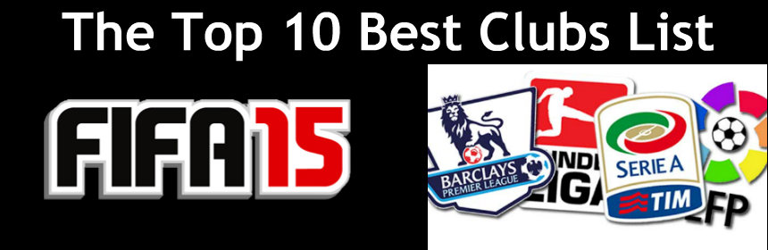 FIFA 15 Best Clubs