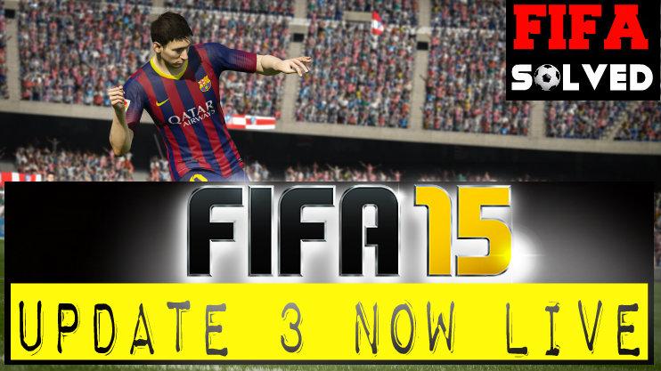 FIFA 15 Update 3
