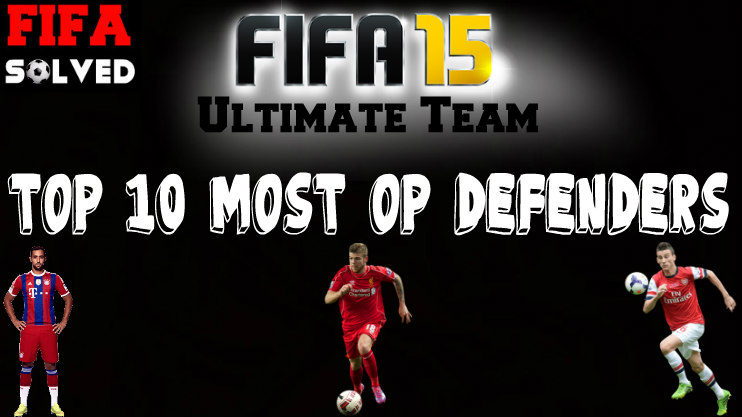 FIFA 15 Most OP Defenders