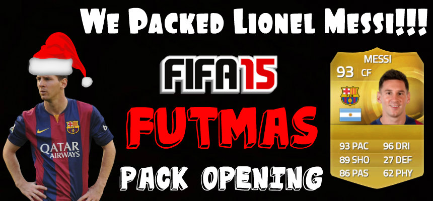 FIFA 15 Pack Opening Messi