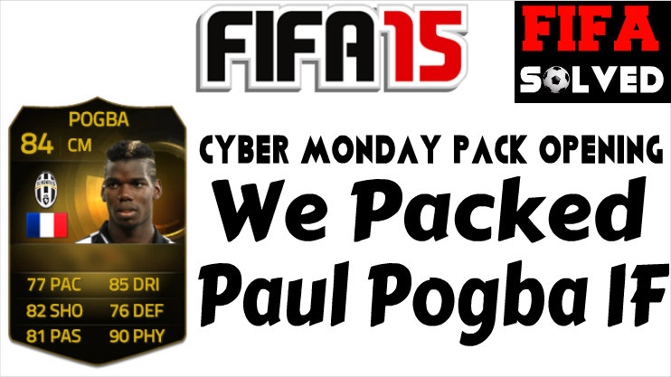 FUT 15 Packed Pogba IF