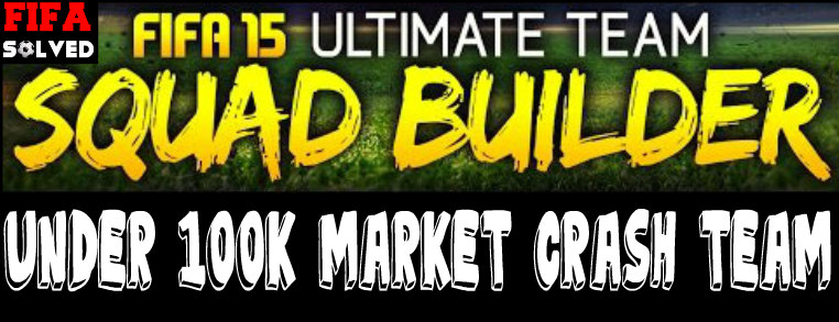FIFA 15 100K Market Crash Squad Builder