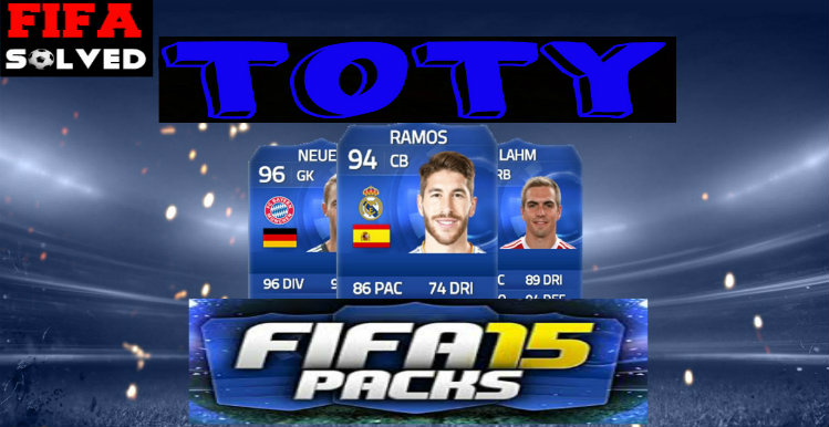 FIFA 15 TOTY Legend Packed