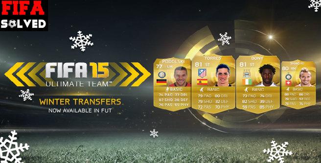 FIFA 15 Winter Transfers