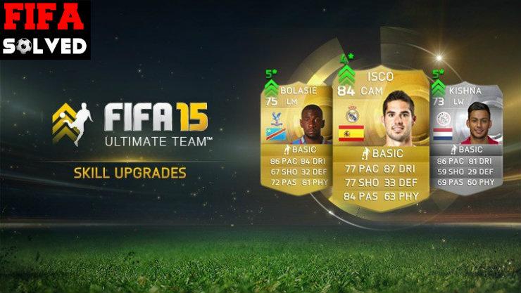 FIFA 15 Skill Upgrades