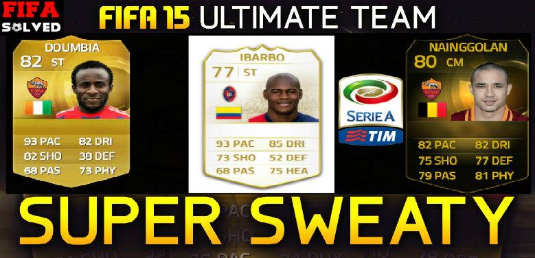 FIFA 15 Sweaty Serie A Squad Builder