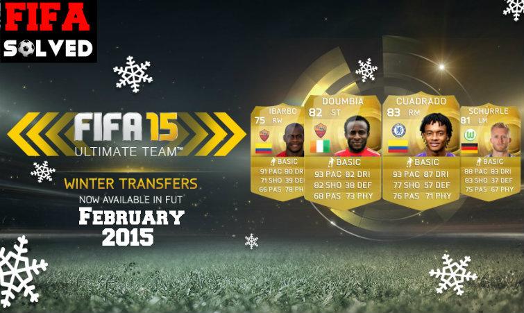 FUT 15 Winter Transfers February 2015