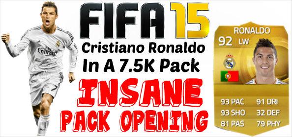 FIFA 15 Ronaldo In A Pack