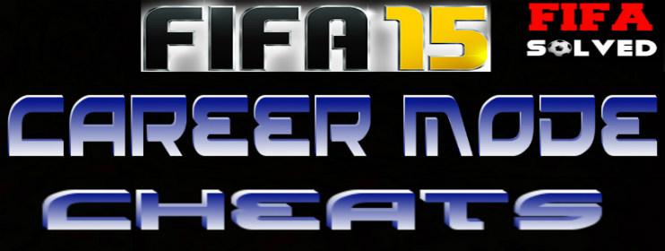 FIFA 15 Career Mode Money Cheats
