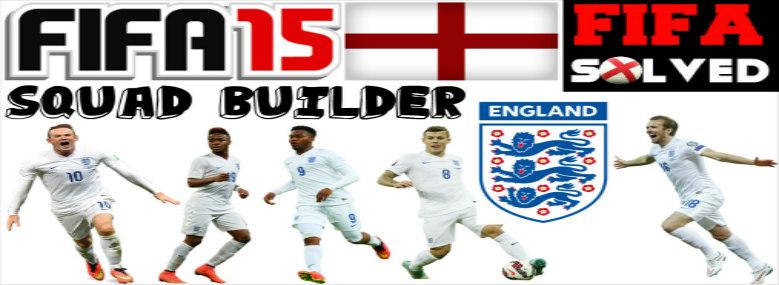 FIFA 15 England Squad Builder