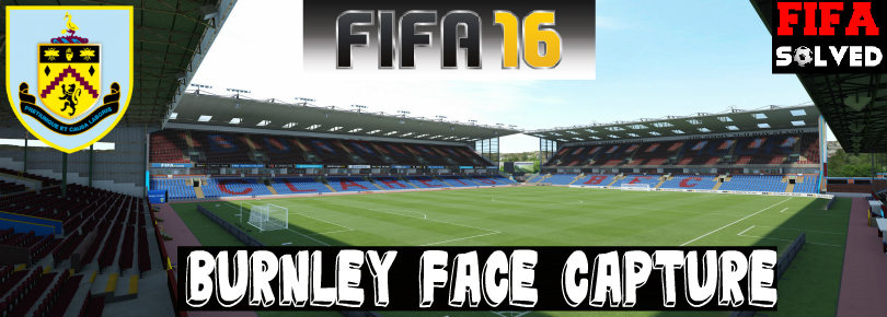 FIFA 16 Burnley Face Capture