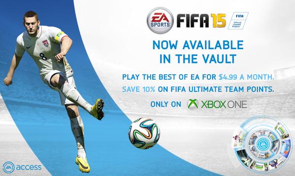 FIFA 15 Free EA Access