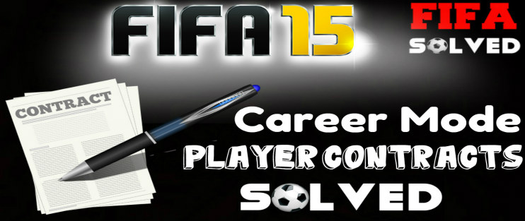FIFA 15 Career Mode Player Contracts