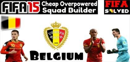 FIFA 15 Cheap OP Belgium Squad Builder