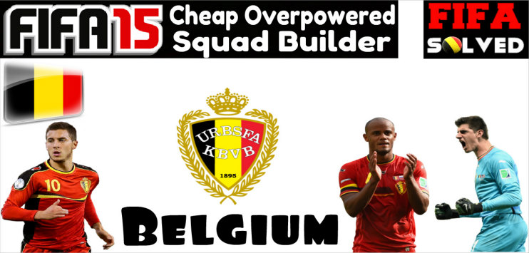 FIFA 15 Cheap OP Belgium Squad Builder