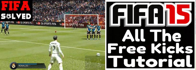 FIFA 15 Free Kicks Tutorial