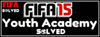 FIFA 15 Youth Academy Tips