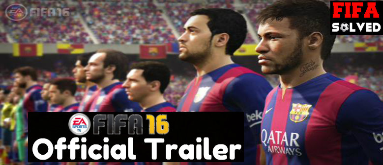 FIFA 16 Trailer