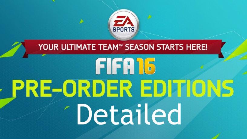 FIFA 16 Pre-Order