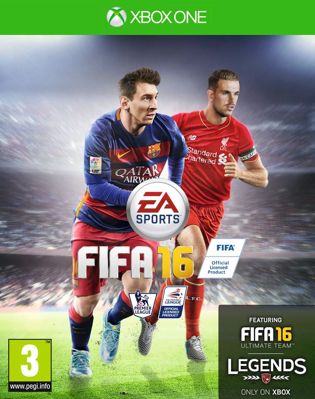 FIFA 16 UK Cover