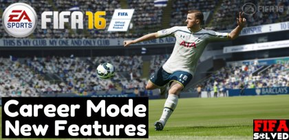 FIFA 16 Career Mode New Features