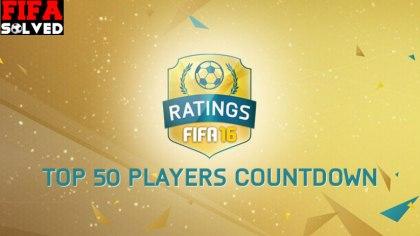 FIFA 16 Player Ratings