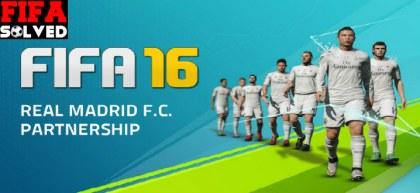 FIFA 16 Real Madrid Partnership