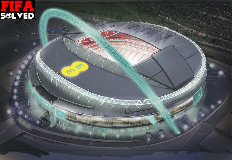 FIFA 16 Wembley Stadium