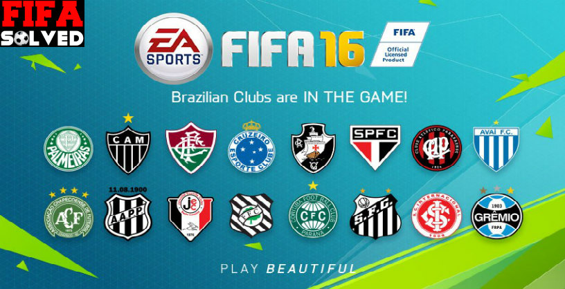 Brazilian Clubs In FIFA 16