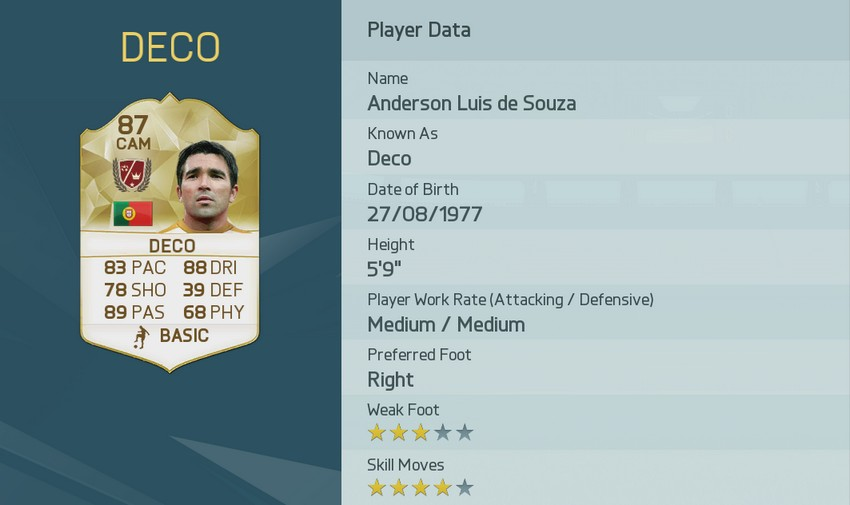 Deco Legend FUT 16