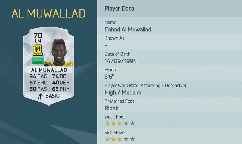 FAHAD AL-MUWALLAD - AL-ITTIHAD (SAUDI ARABIA)
