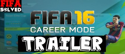 FIFA 16 Career Mode Innovations Trailer