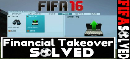 FIFA 16 Financial Takeover