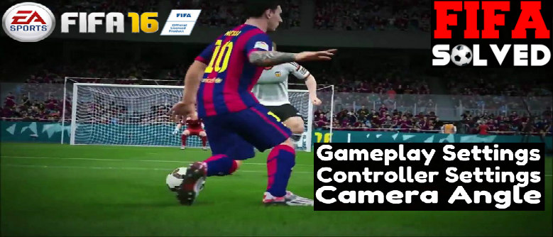 FIFA 16 Gameplay Settings