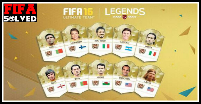 FIFA 16 Legend Ratings