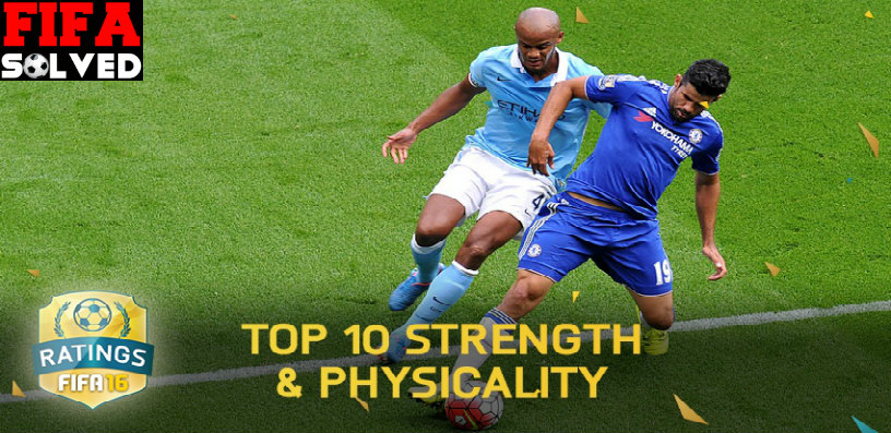 FIFA 16 Strongest Players