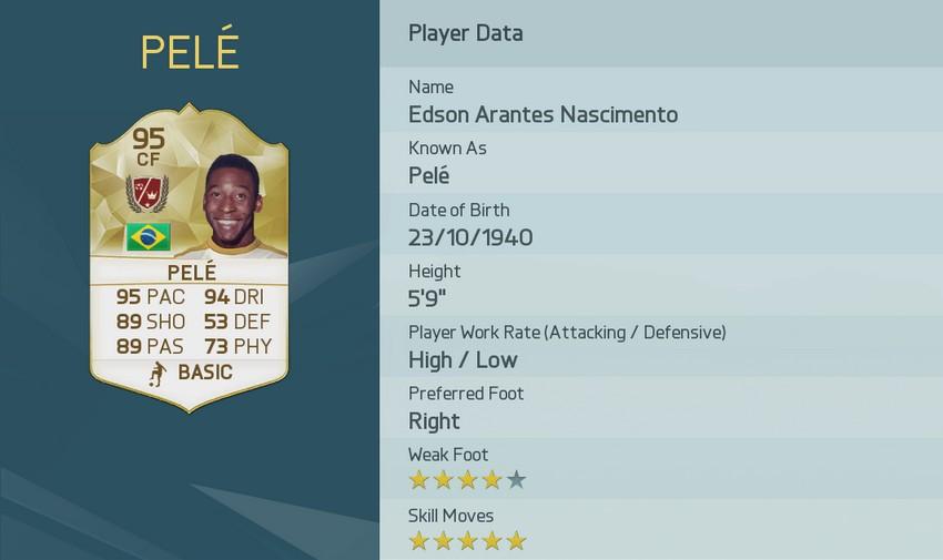 PELÉ FIFA 16