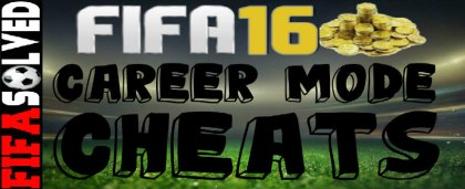 FIFA 16 Career Mode Cheats
