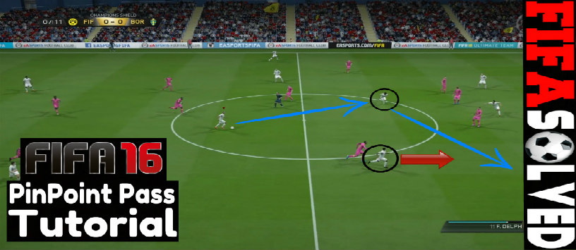 FIFA 16 Driven Pass Tutorial