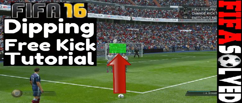 FIFA 16 Dipping Free Kick Tutorial