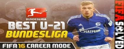 FIFA 16 Best Young U21 Bundesliga Players
