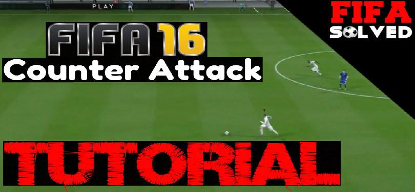 FIFA 16 Counter Attack Tutorial