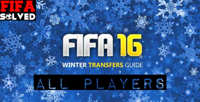 FIFA 16 Winter Transfers